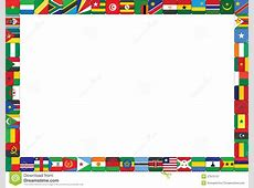African countries flags stock vector Image of african