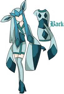 Eevee Evolutions Glaceon Costume
