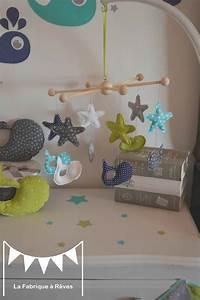 Bleu Vert D Eau : mobile b b toiles baleine bleu turquoise vert d 39 eau anis ~ Preciouscoupons.com Idées de Décoration