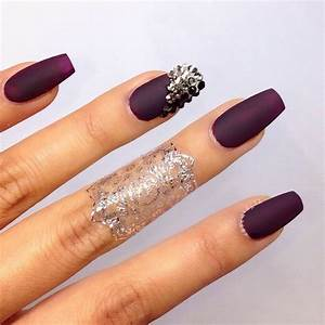 Lovely Nail Designs - #ShareIG vampy matte nails #snaptats ...
