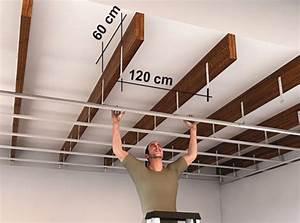 Suspentes Placo Tige Filetée : l univers des plafonds leroy merlin ~ Dailycaller-alerts.com Idées de Décoration
