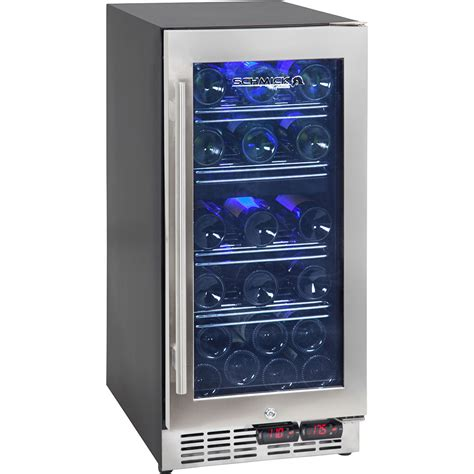 bench dual zone wine fridge quiet running  versatile