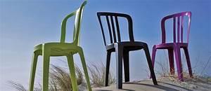 Chaise Jardin Plastique : chaise de jardin miami bistrot grosfillex ~ Teatrodelosmanantiales.com Idées de Décoration