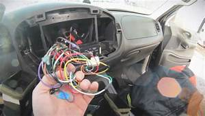 1999 Ford Expedtion Sound System Tear Out Pt 1  Tearing My