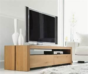 modeles de meuble tv en bois archzinefr With meuble salon moderne design 7 modales de meuble tv en bois archzine fr