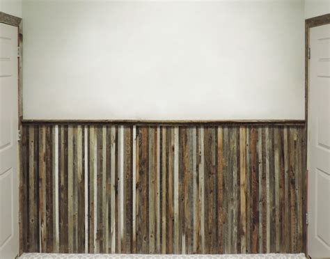 Wainscoting Cost Per Foot by Barnwood Wainscoting Reclaimed Wood Wall Paneling Price