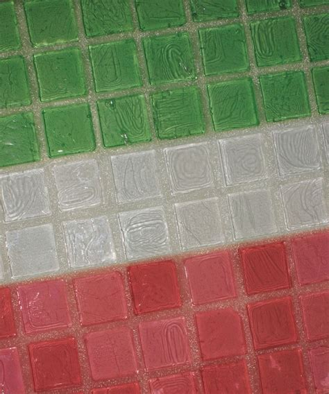 glass grout 174 creates a chameleon effect with your