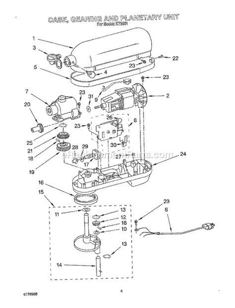 Kitchenaid Stand Mixer Ereplacementparts