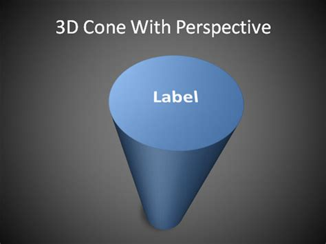 cone  powerpoint   shapes