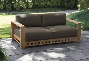 Canape De Jardin Bois : avis canap en bois test comparatif ~ Premium-room.com Idées de Décoration