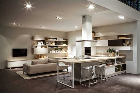 cocina comedor juntos decoracion modelos sala living en