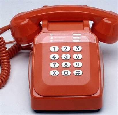 Telefon Das Rote Eingerichtet Wird Rotes Welt