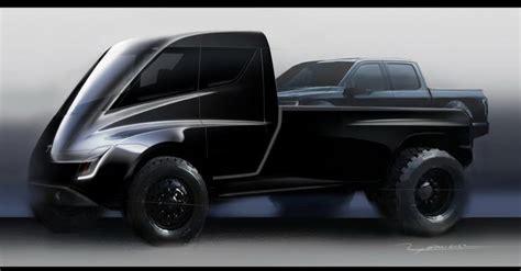 tesla pickup truck teased    giant toy car