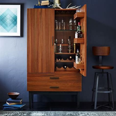 Modern Bar Cabinets by Reede Bar Cabinet West Elm Furnishings Home