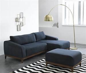 Canapé Bleu Marine : 15 inspirations d co en bleu marine joli place ~ Teatrodelosmanantiales.com Idées de Décoration