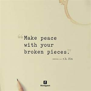 Darkness cannot... Broken Peace Quotes