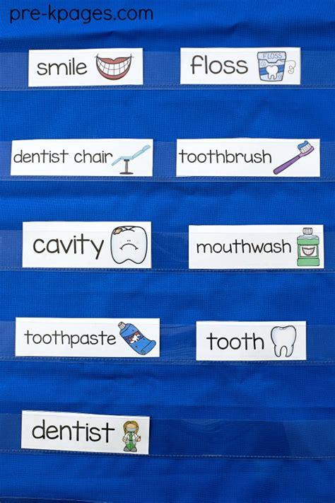 dental health theme activities  preschool