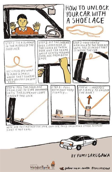 how to unlock a car door 3 creative ways to unlock a car door