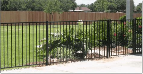 types of fences for yards types of metal fencing for yards