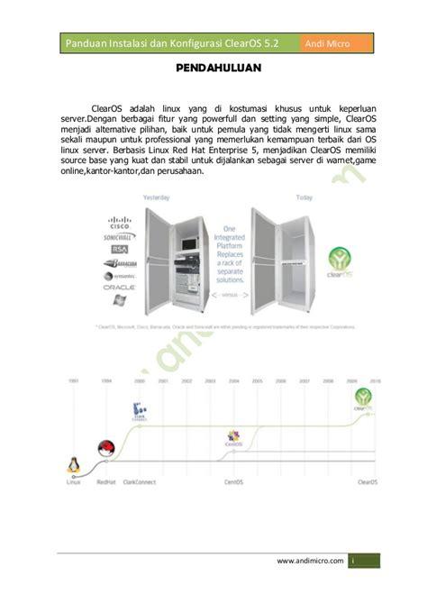 Harga Clearos buku hijau panduan konfigurasi clearos 5 2 revisi 2012
