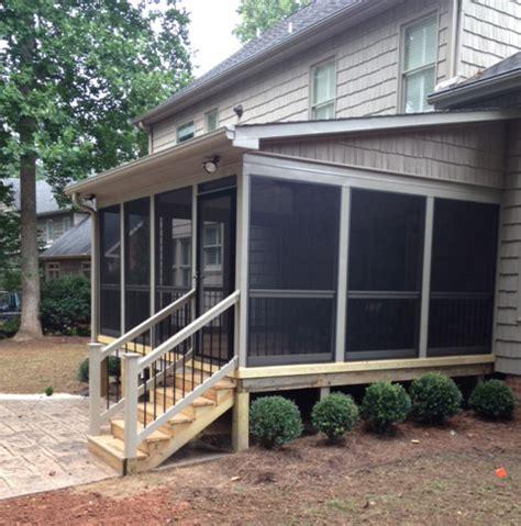 screen porch building plans  tom