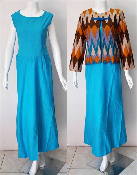baju muslim batik motif rang rang2 baju kerja batik
