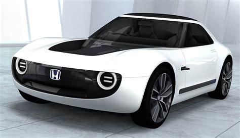 voiture pour 3 si鑒es auto honda sport ev concept une vision alléchante de la sportive électrique