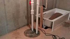 Photo gallery priority plumbing pump for toilet in for Bathroom pumps for basements