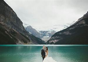 A Rustic Elegant Wedding In Lake Louise Weddingbells