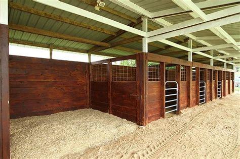 Wood Stalls, I Love This Design. It's Simple, Yet Elegant
