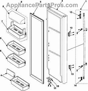 Samsung Refrigerator Rs2530bbp Parts Diagram