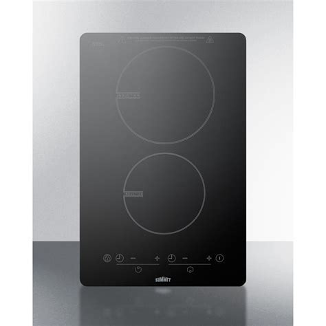 Summit SINC2B120 2 Burner Induction Cooktop (120 Volts)