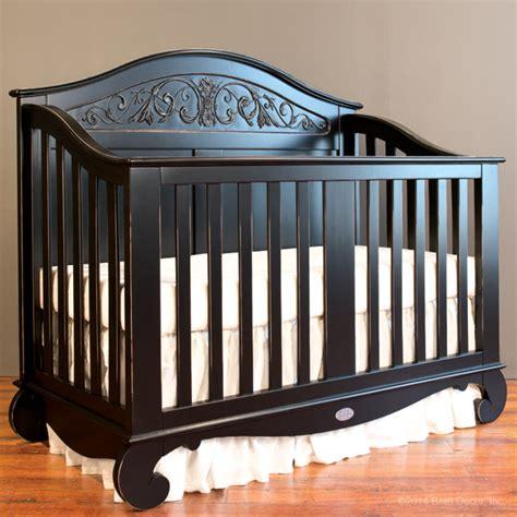 Bratt Decor Crib Black by Chelsea Lifetime Crib Distressed Black