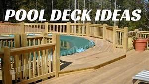 Pool Dach Rund : above ground pool deck ideas youtube ~ Watch28wear.com Haus und Dekorationen