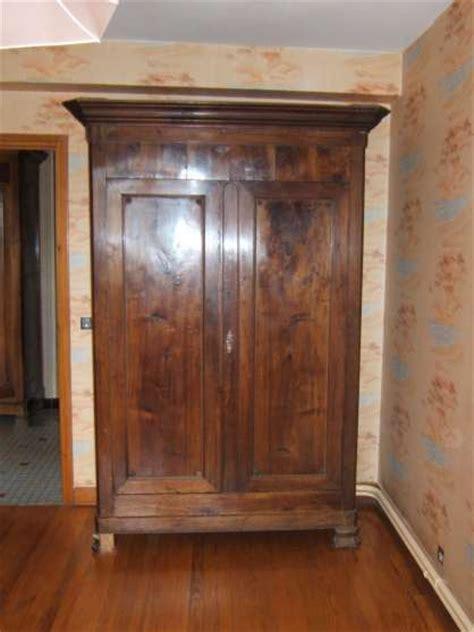 armoire ancienne en chataignier massif 224 lacaune meubles