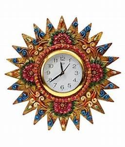 Unique, Indian, Crafts, Circular, Analog, Wall, Clock, 40, X, 40, Cm, Buy, Unique, Indian, Crafts