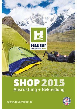 Hausershop Katalog 2015 By Hauser Exkursionen Shop Gmbh