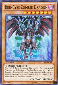 Red Eyes Zombie Dragon Yu Gi Oh Fandom Powered By Wikia