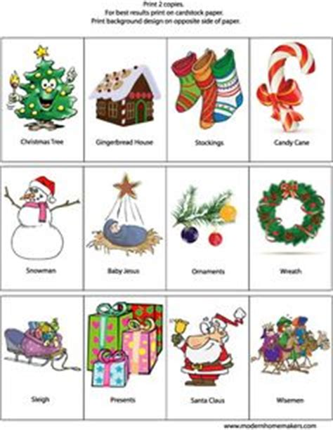 christmas activities printables images