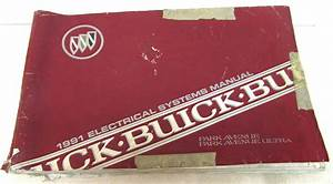 1991 Buick Electrical Wiring Diagram Service Manual Park