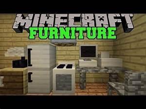 minecraft furniture mod computer tv fridge oven With kitchen furniture minecraft command