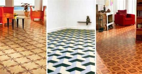 Contemporary Linoleum, Eco Flooring Ideas for Modern