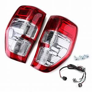 Car Rear Tail Light Assembly Brake Lamp With Wiring