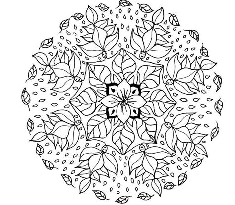 mandala coloring pages coloringpages