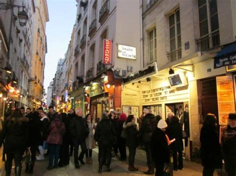 9 theatre de la huchette opposite hotel fotograf 237 a de