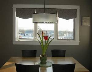 Dining table light above height