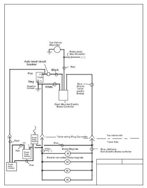 Trailer Breakaway Wiring Schematic Free Diagram