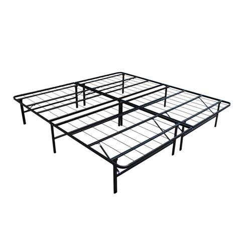 Platform Metal Bed Frame by Image