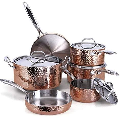 wolf cookware fleischer seville gifts pots stainless steel pans sets piece series copper cooking pan keto diet wishlist