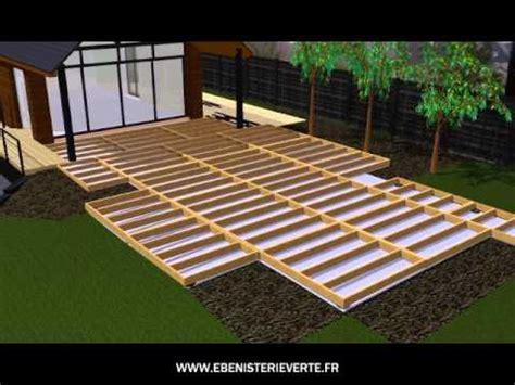 kit terrasse bois terrasse bois et composite en kit a monter soi meme